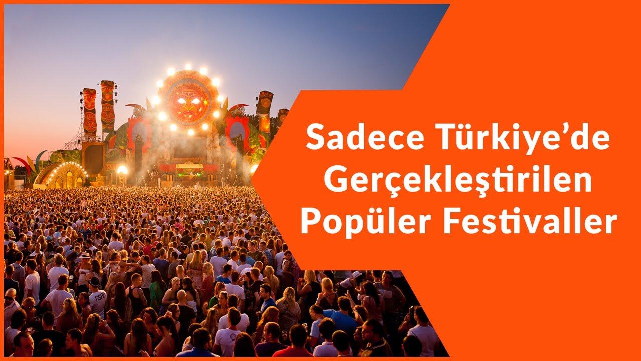 TÜRKİYE'NİN EN POPÜLER FESTİVALLERİ   2020