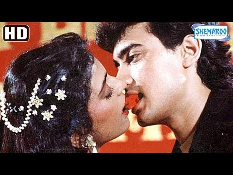 Amir Khan & Juhi Chawla Compilation - Love Love Love (1989) Romantic Scenes - Hit Hindi Movie thumbnail
