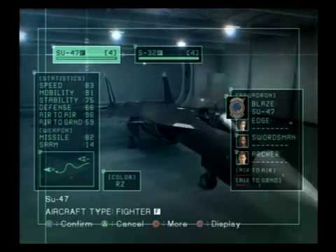 Ace Combat 5 all planes
