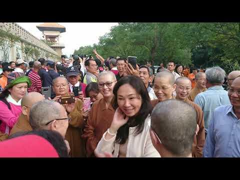20181208 韓國瑜市長和夫人李佳芬親臨佛陀紀念館