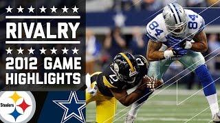 Tony Romo Leads Cowboys Past Steelers (Week 15, 2012) | Game Highlights | NFL