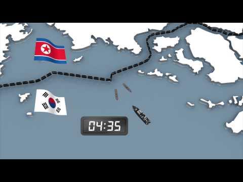 South Korean navy fires warning shots in response to North Korean incursions