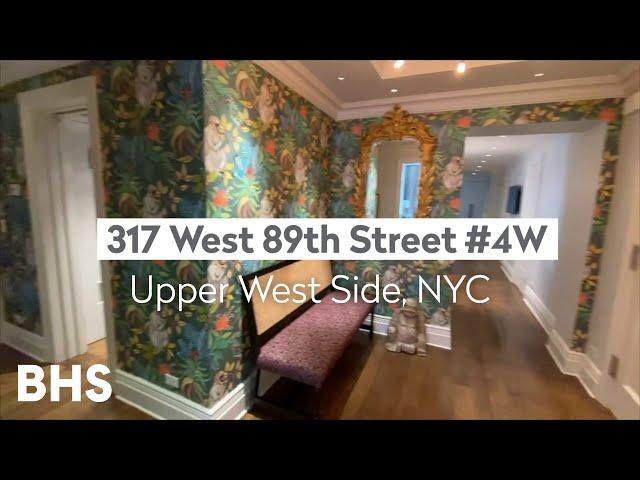 317 West 89th Street, 4W