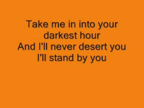 Girls Aloud I'll Stand By You - Lyrics