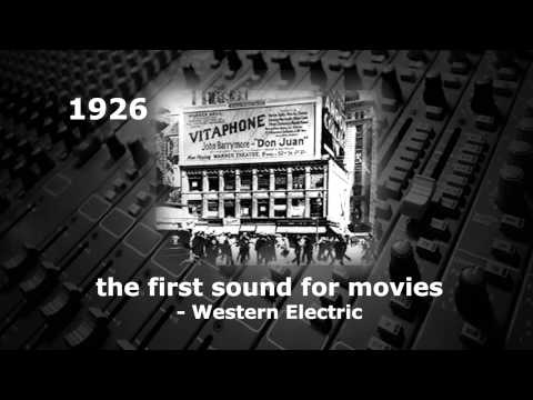 The Complete History of Sound Recording in three and a half minutes as told by Mr Audio