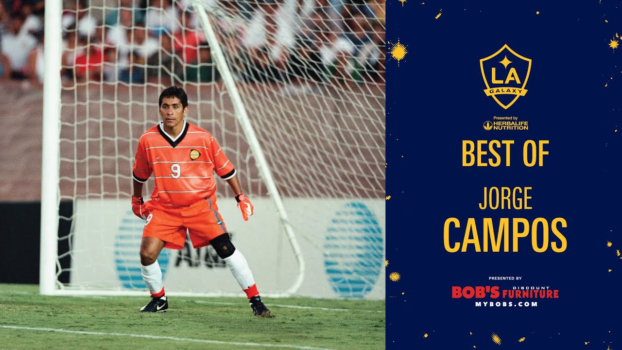 Best Of La Galaxy Goalkeeper Jorge Campos Presented By Bob S Discount Furniture Highlights Saves Youtube
