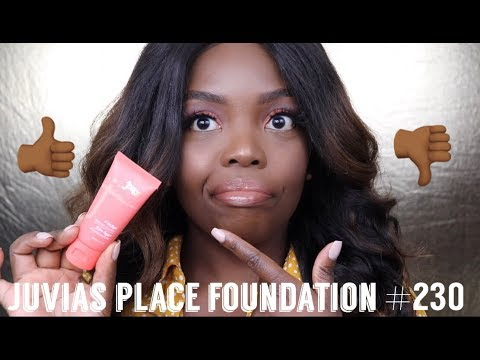 JUVIAS PLACE FOUNDATION REVIEW  || CHIT CHAT GRWM thumbnail