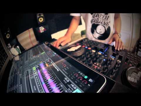 DJ Butung - S4 flux mode scratching test