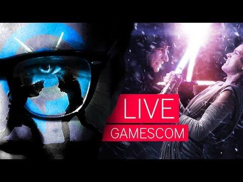 Lichtschwert-Workshop live von der gamescom 2017