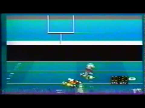 EA Sports NCAA Football 1995 simulation of Oregon vs. WSU 10-21-1995
