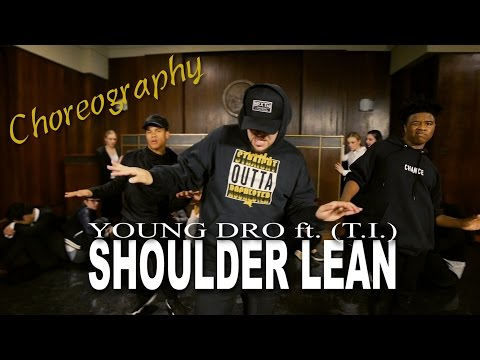 Young Dro - Shoulder Lean Choreography   by Mikey DellaVella   @dropolo