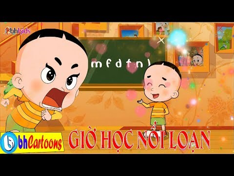 Phim Hoạt Hình Bố Đầu Nhỏ Con Đầu To tập 106 : Giờ Học Nổi Loạn