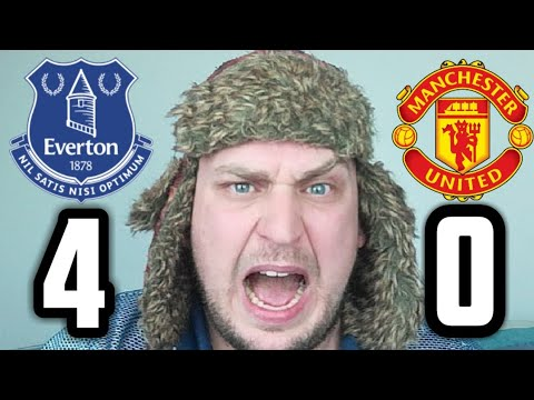 RANT Everton 4-0 Man Utd | SACK THE LOT OF THEM!