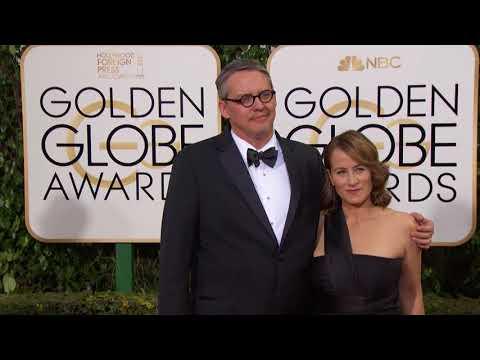 Adam McKay and Shira Pive Fashion  Golden Globes 2016