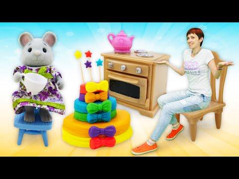 Мультфильм Капуки Кануки. Видео для детей: торт для друзей как в мультике про машинки