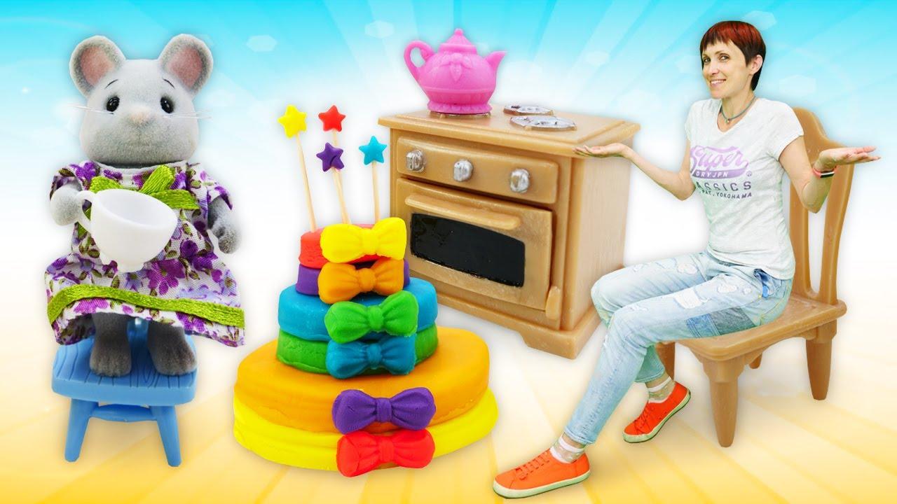 Мультфильм Капуки Кануки. Видео для детей: торт для друзей ...