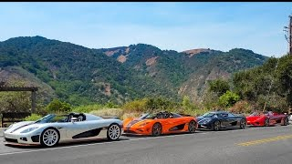 The Ultimate 2016 Car Week Compilation Video