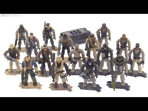 Mega Bloks CoD Special Ops Task Force review