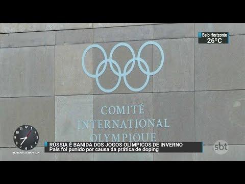 Rússia está banida das Olimpíadas de Inverno de 2018 | SBT Brasil (05/12/17)