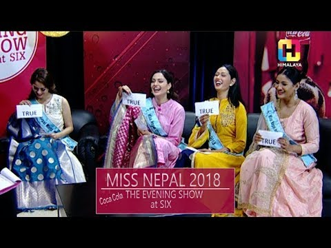 MISS NEPAL 2018 | Beauty Queens On Set  | THE EVENING SHOW AT SIX