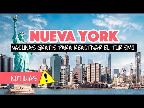 Nueva York busca reactivar el turismo con vacunas gratis