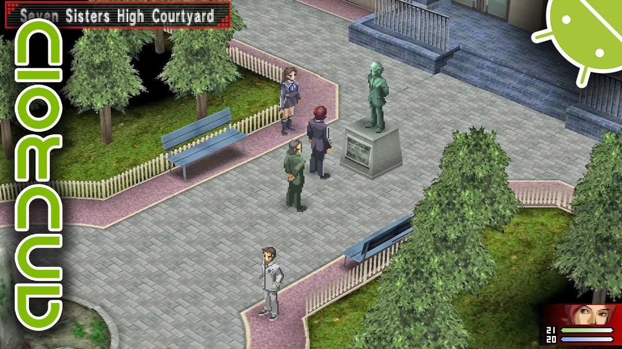 Shin Megami Tensei: Persona 2: Innocent Sin NVIDIA SHIELD Android TV PPSSPP  Emulator 1080p Sony PSP