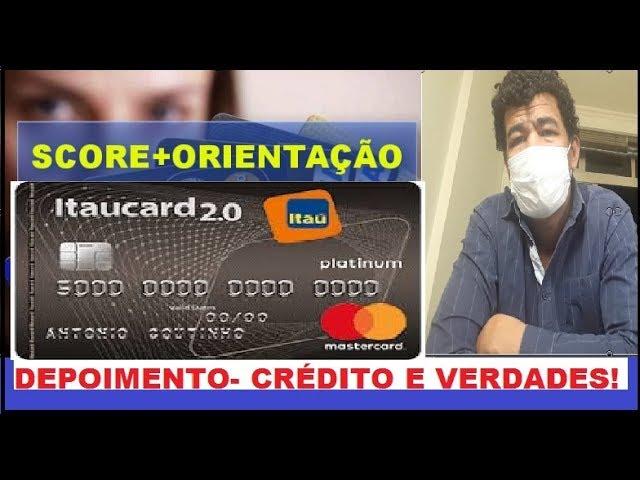 CARTÃO ITAÚ PLATINUM 2.0 COM LIMITE QUE POUCOS TEM A HONRA É DO CRIADOR