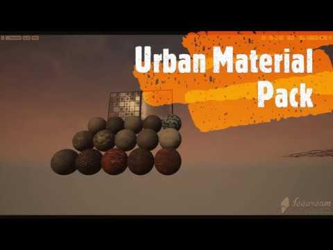 Urban Material Pack UE4