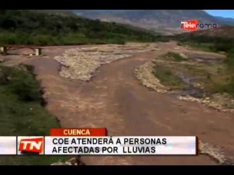 COE atenderá a personas afectadas por lluvias