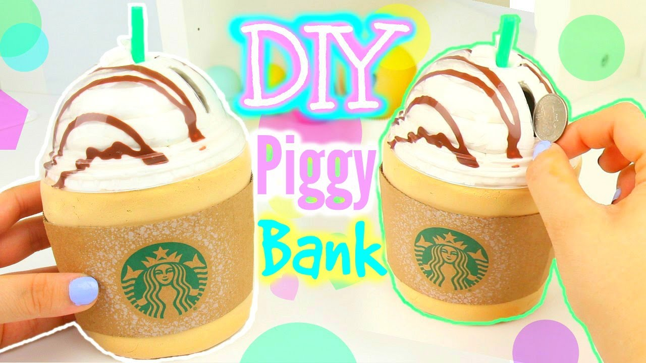 Make Your Own Piggy Bank!  Youtube