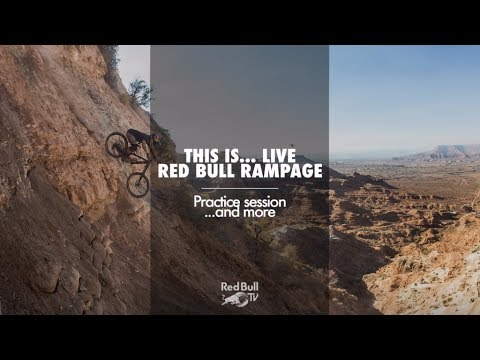 Join us Live from Red Bull Rampage practice session.