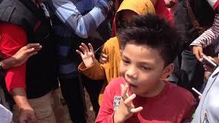 GEN HALILINTAR 11 KIDS - WE ARE ONE BIG FAMILY - MAHER ZAIN ( KONSER AT LAP. AHMAD YANI )
