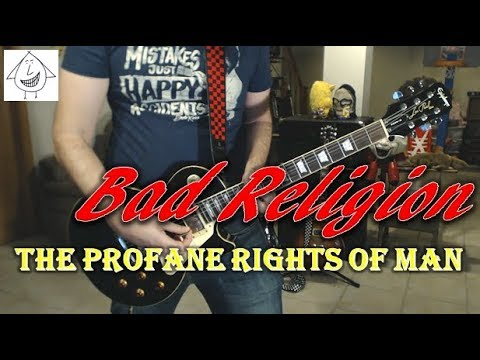 Bad Religion - The Profane Rights Of Man - Guitar Cover (Tab in description!) Mp3