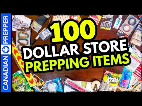 100 Cheap Survival Items To Stockpile: Dollar Store Prepping