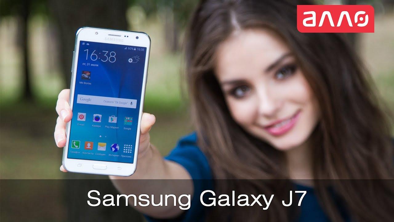 Смартфон Samsung Galaxy J7 Видеообзор