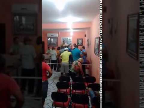 Sessão de Câmara dos vereadores acaba em pancadaria no Vale do Piancó: Veja o VÍDEO