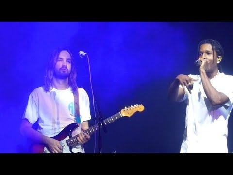 Tame Impala With A$AP Rocky - Sundress / L$D [Live At Lowlands Festival - 18-08-2019]