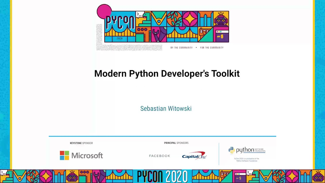 Image from Modern Python Developer's Toolkit