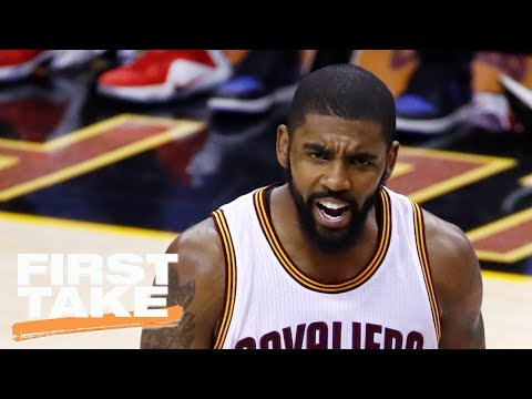 Max Kellerman Says You Cannot Build A Team Around Kyrie Irving | First Take | June 21, 2017