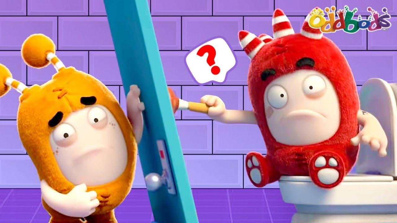 Oddbods | NEW | TOILET PRANK | Funny Cartoons For Kids