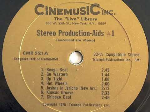 """Jack Shaindlin - Stereo Production Aids #1 / """"Time-Now"""" (1970) VINYL RIP"""