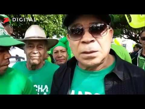 Marino Zapete en la marcha verde San Francisco