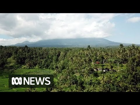 Inside the Mt Agung volcano exclusion zone