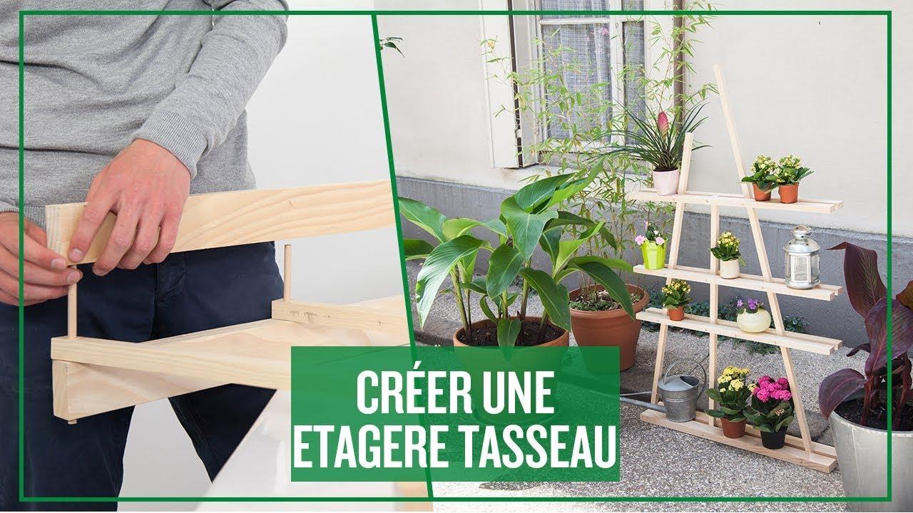 Fabriquer Une Étagère Pour Plantes créer une étagère tasseau