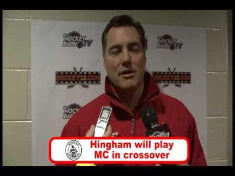 HockeyBarn.com post-game interview with Tony Messina