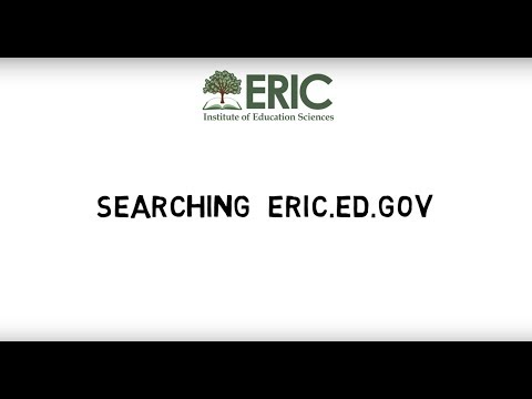 Searching eric.ed.gov