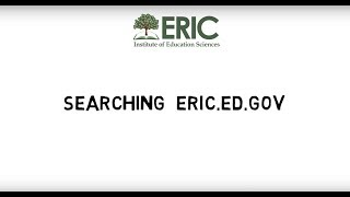 Searching eric.ed.gov thumbnail
