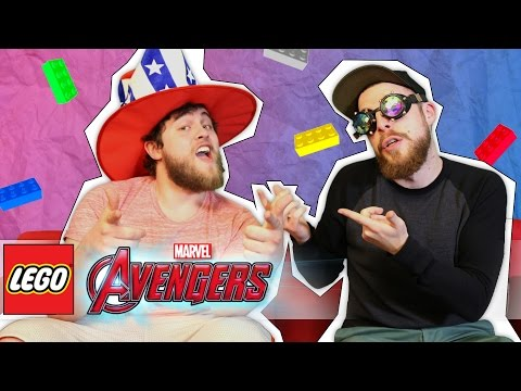 LEGO MARVEL'S AVENGERS TO THE RESCUE! | OFFICE ANTICS