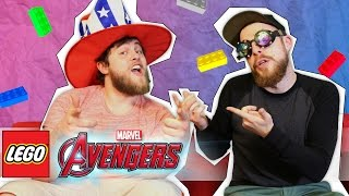 LEGO MARVEL'S AVENGERS TO THE RESCUE! | OFFICE ANTICS