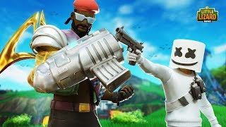 MAJOR LAZER VS MARSHMELLO!!! - Fortnite Season X